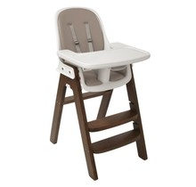 Sprout Highchair, Walnut with Taupe