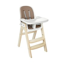 Sprout Highchair, Birch with Taupe