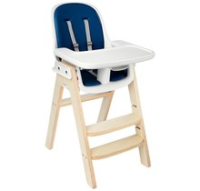 Sprout Highchair, Birch with Navy