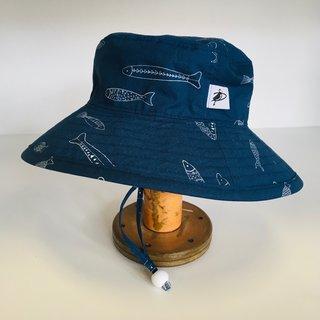 2-5 y Stream Fish Sunbaby Hat