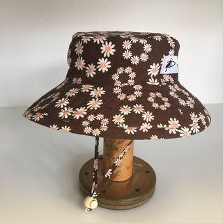 6-12m Earth Flower Sunbaby Hat