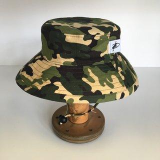 3-6m Green Camo Sunbaby Hat