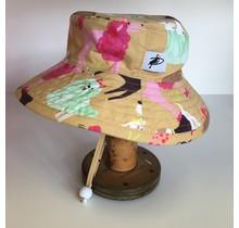 6-12m Tan Doggies Sunbaby Hat