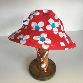 3-6m Big Bold Flower Sunbeam Hat