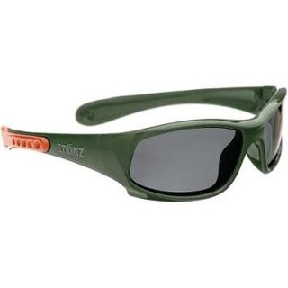 Forest Green/Coral Stonz Baby Sport Sunnies