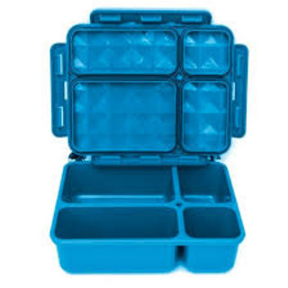 Blue 5 Compartment Leakproof Foodbox