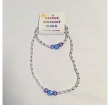 Elsa Necklace & Bracelet Set