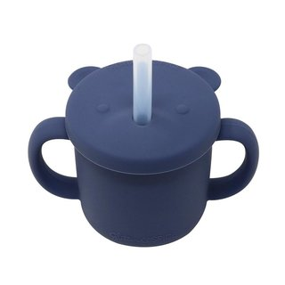 Midnight Blue Silicone Cup
