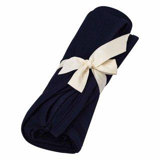Navy Bamboo Swaddle Blanket