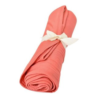 Melon Bamboo Swaddle Blanket