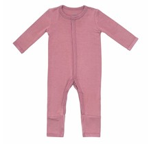 Mulberry Bamboo Zippered Romper