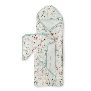 Llama Hooded Towel Set