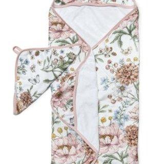 Secret Garden Hooded Towel Set