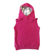 The Bright Pink/Popsicle Sleeveless Hoodie
