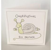 Congratulations Big Brother Card