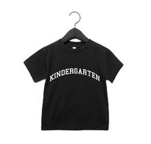 The Kindergarten Black Tee