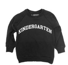 The Kindergarten Black Raglan