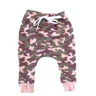 The Pink Camo Joggers