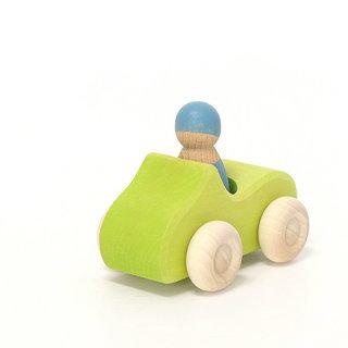 Small Green Convertible Car