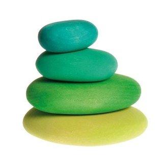 Grimm's Moss Pebbles (4 pcs)
