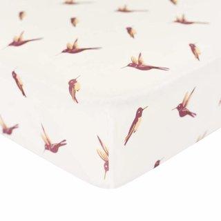 Hummingbird Bamboo Crib Sheet