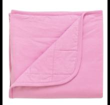 Bubblegum Bamboo Baby Blanket