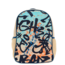 SoYoung Colourful Graffiti Raw Linen Toddler Backpack