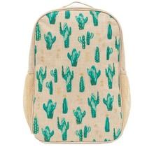 Cacti Desert Linen Gradeschool Backpack