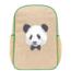 SoYoung Monsieur Panda Linen Gradeschool Backpack