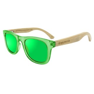 Green Kids Beech Wood Sunglasses