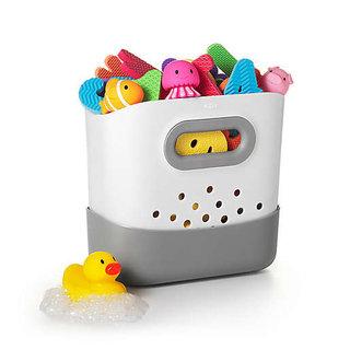 Stand Up Bath Toy Bin