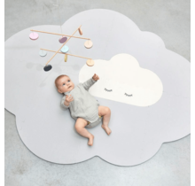 Pearl Grey Head in the Clouds Large Playmat