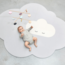 QUUT Pearl Grey Head in the Clouds Large Playmat