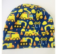 Bold Construction Slouch Beanie