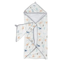 Born to Fly Hooded Towel Set