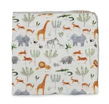 Safari Jungle Muslin Quilt Blanket