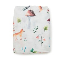 Woodland Gnome Fitted Crib Sheet