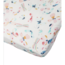 Loulou Lollipop Butterfly Fitted Crib Sheet
