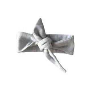 The Grey Top Knot Headband
