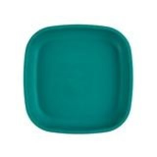"""Teal Re-Play 7"""" Flat Plate"""