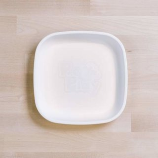 """White Re-Play 7"""" Flat Plate"""