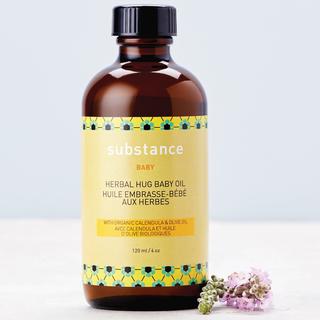 Herbal Hug Baby Oil, Large 4oz