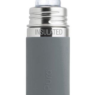 Slate Pura 260ml Insulated Infant Bottle