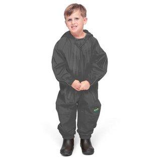Grey Splashy Breathable Nylon Rain Suit