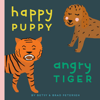 Happy Puppy, Angry Tiger