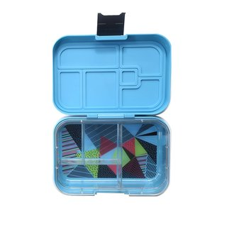 Electric Blue Mega 4 Munchbox