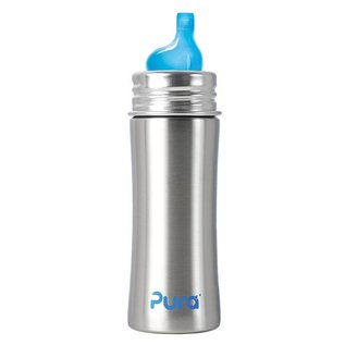 Pura Kiki Pura Stainless 11oz Bottle With Sippy Stainless