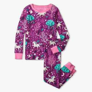 Enchanted Forest Organic Cotton Pajama Set