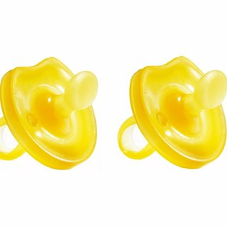 Natural Rubber Pacifier 2pk, Ortho Butterfly