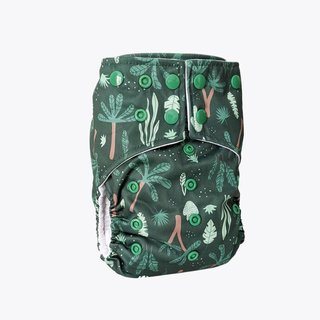 Jungle One-Size Snap Pocket Diaper